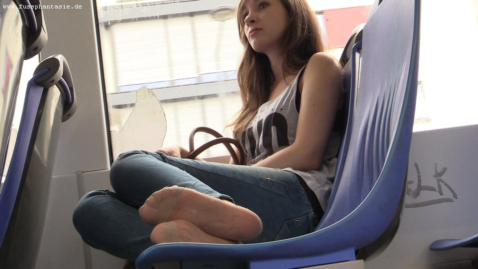 Candid feet shoeplay dangling in nylons pantyhose lobby - 2 5